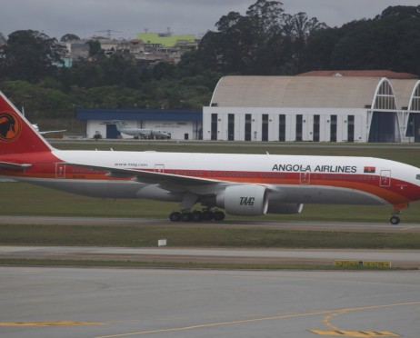 Foto TAAG ANGOLA AIRLINES