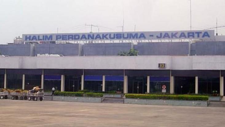 Foto Bandara di Halim Perdanakusuma Jakarta   Halim