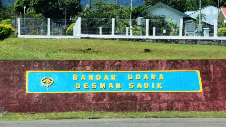 Foto Bandara di Labuha Maluku Utara