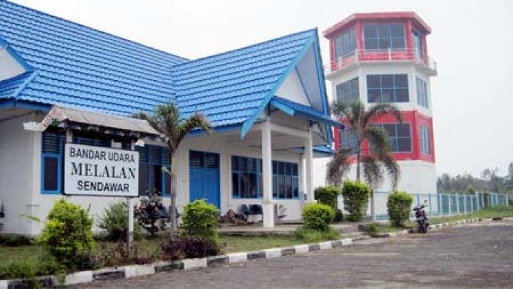 Foto Bandara di Melalan Kutai Barat
