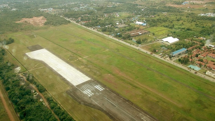 Foto Bandara di Syamsuddin Noor Banjarmasin