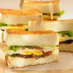 Menu at Sandwich Bakar