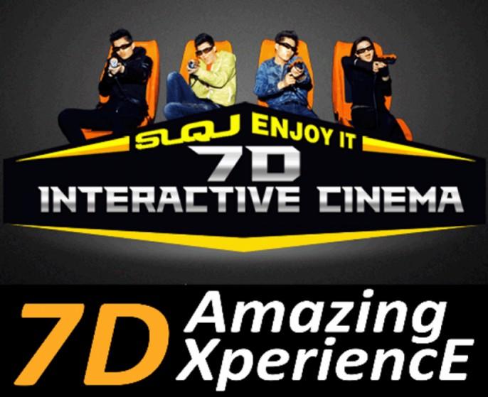 harga tiket 7D Motion Ride at Suntec City Mall