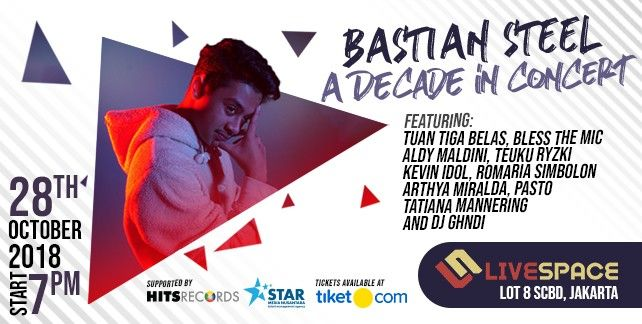harga tiket A Decade of The Bastian Steel 2018