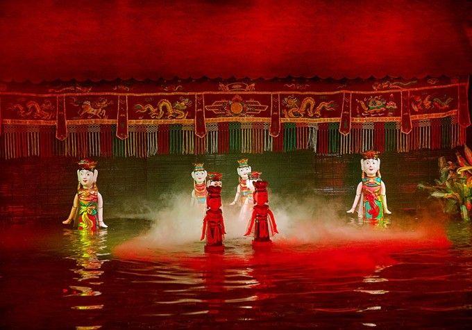 harga tiket Admission to Nha Trang Water Puppet Show