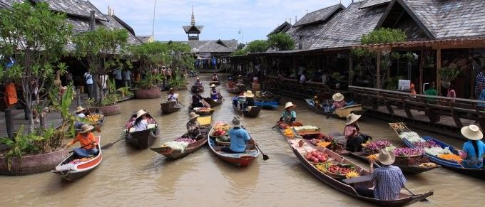 harga tiket Admission to Pattaya Floating Market