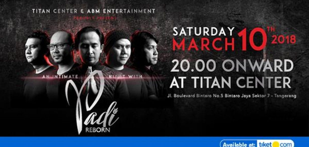 An Intimate Night With PADI Reborn 2018