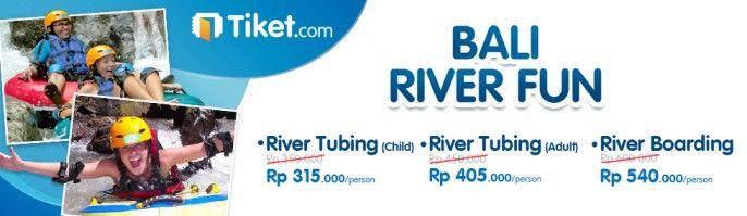 harga tiket Bali River Fun