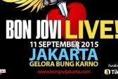 BON JOVI LIVE IN JAKARTA