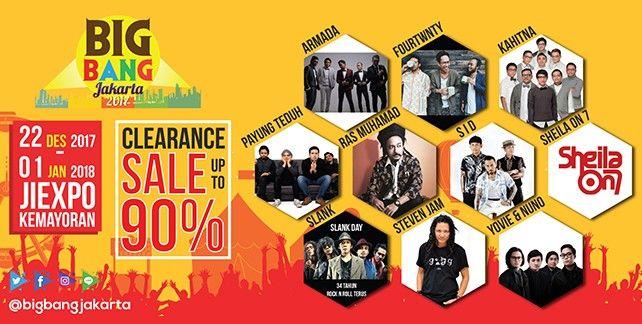 harga tiket BigBang Jakarta 2017