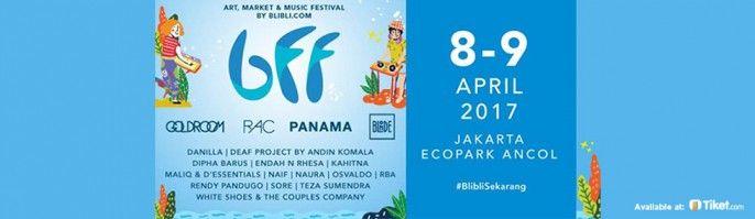 harga tiket Blibli Fun Festival 2017