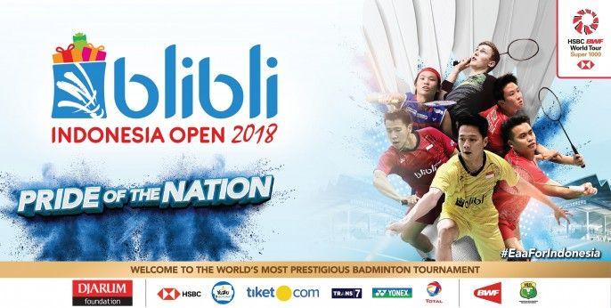 harga tiket blibli Indonesia Open 2018