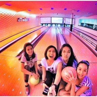 Bowling Activity in Bali
