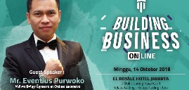 harga tiket BUILDING BUSINESS ONLINE 2018