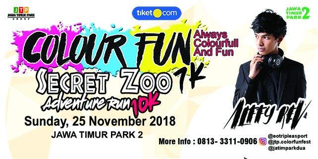 harga tiket ColourFun 2018