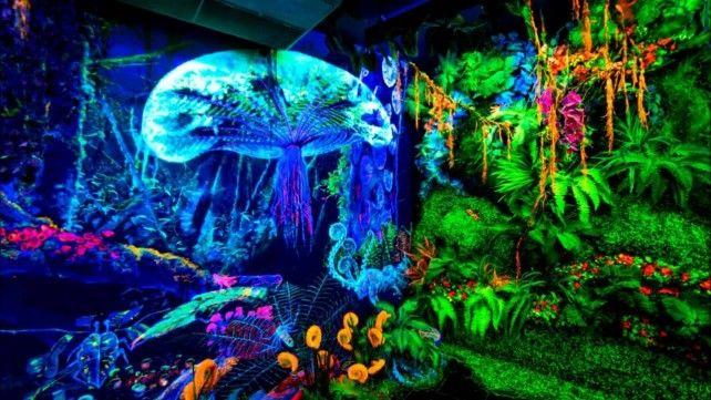 Dark Mansion - 3D Glow in the Dark Museum Admission Ticket