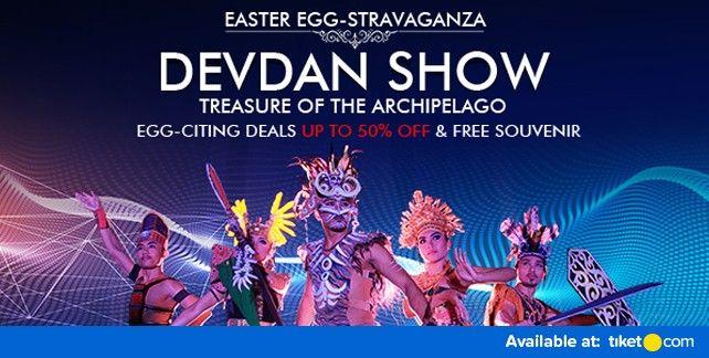 harga tiket DEVDAN Show Bali