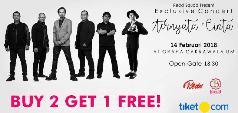 Exclusive Concert - TERNYATA CINTA PADI & ANJI 2018 Malang