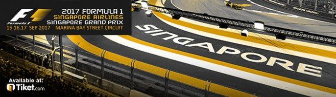 harga tiket Formula 1 Singapore Grand Prix 2017