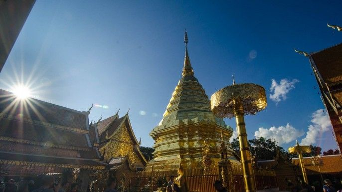harga tiket Full Day Tour to Doi Suthep & Temples (Wat Phra Singha, Wat Chedi Luang, Wat Chiang Man Incl Lunch (Private Tour)