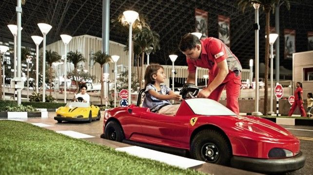 Full-day Abu Dhabi City Tour from Dubai with Ferrari World Bronze Ticket and Transfer