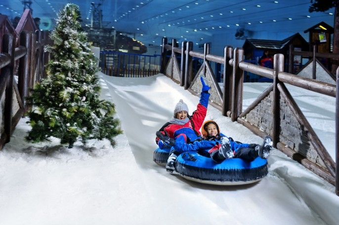 harga tiket Full-day Ski Dubai Polar Pass