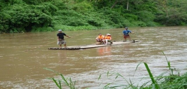 Full-day to Chiang Dao Elephant Safari with Bamboo Rafting (Join Tour)
