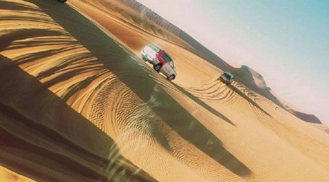 Half-day Desert Safari Tour in Dubai with Quad Bike / Dune Buggy Ride and Dinner
