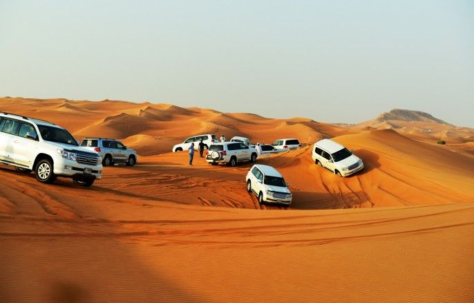 harga tiket Half-day Evening Desert Safari in Dubai via 4x4 Land Cruiser