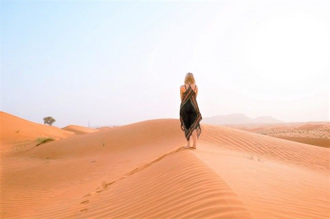 harga tiket Half-day Morning Desert Safari in Dubai with Transfer
