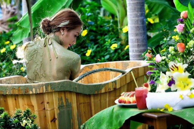 Half-day Thap Ba Hot Spring Bath and Mud Spa with Transfers