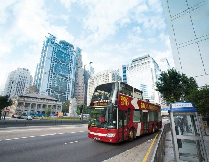 harga tiket Hong Kong Hop-on, Hop-off Bus Tours