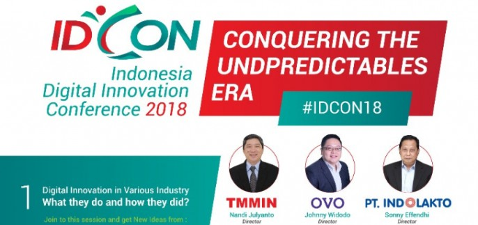 harga tiket Indonesia Digital Innovation Conference (IDCON) 2018