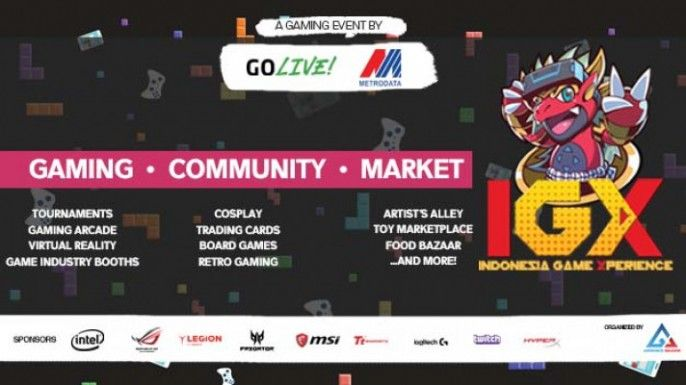 harga tiket Indonesia Game Xperience 2018