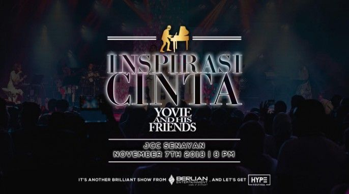 harga tiket INSPIRASI CINTA YOVIE AND HIS FRIENDS 2018