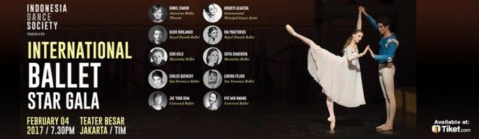 harga tiket International Ballet Star Gala 2017