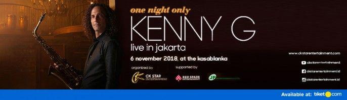 harga tiket Kenny G Live In Jakarta 2018