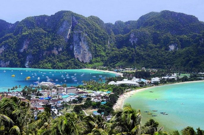 harga tiket Khai and Phi Phi Islands by Speedboat Tour