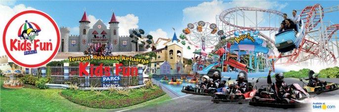 harga tiket Kids Fun Parcs & Aqua Splash Yogyakarta