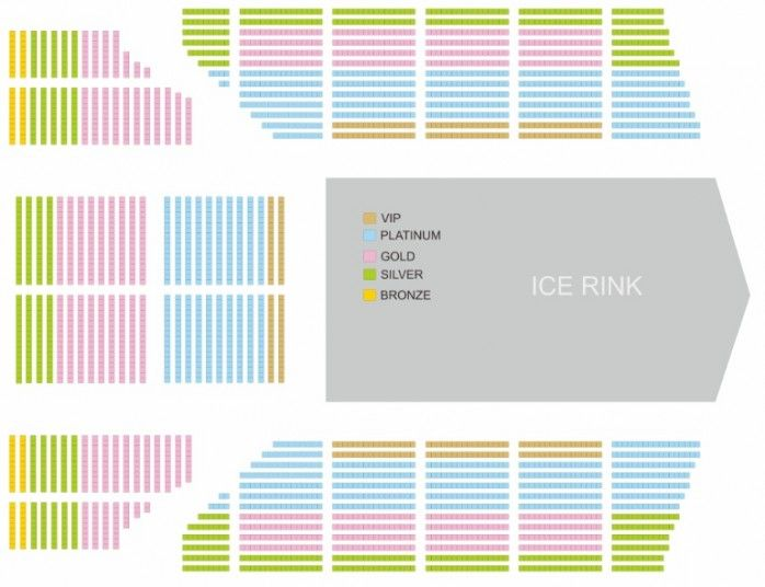 Lokasi Layout Masha & The Bear on Ice - Show 2 (Sunday, 01 Juli 2018)