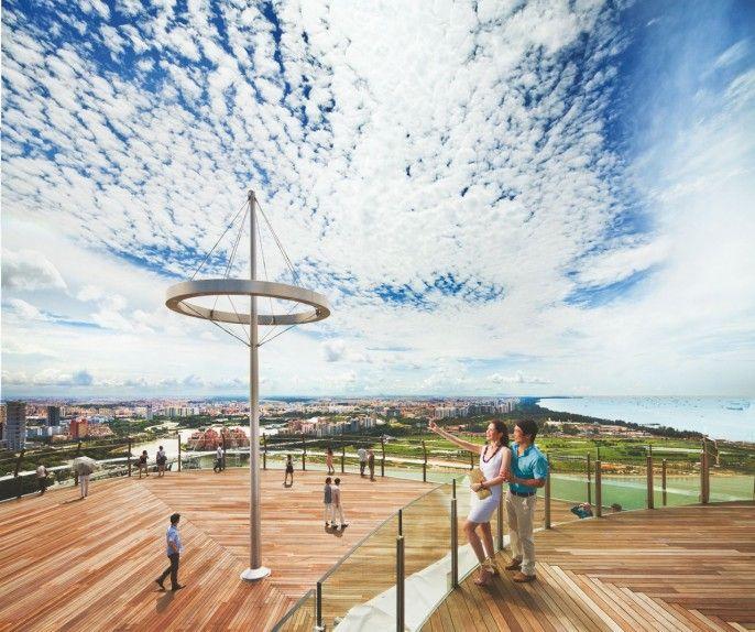 harga tiket Marina Bay Sands: Sands SkyPark Observation Deck