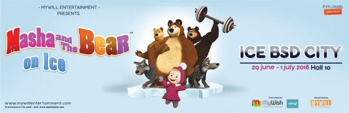 harga tiket Masha & The Bear on Ice - Show 2 (Friday, 29 Juni 2018)
