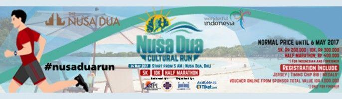harga tiket Nusa Dua Cultural Run 2017