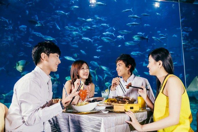 harga tiket Ocean Park Themed Restaurant Gourmet Package (E-ticket)