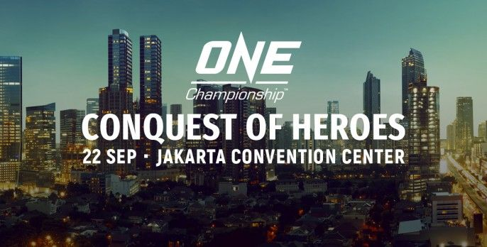 harga tiket One Championship Conquest Of Heroes 2018