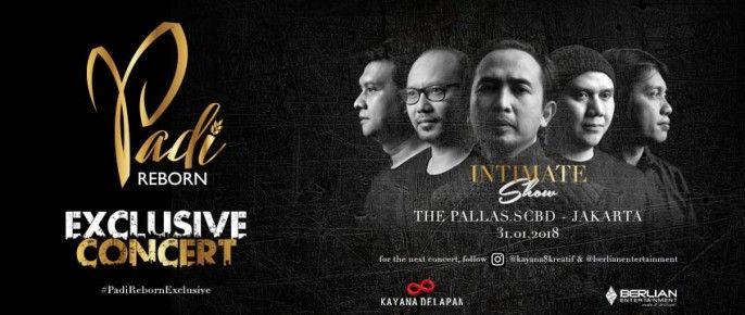 harga tiket PADI Reborn Exclusive Jakarta 2018
