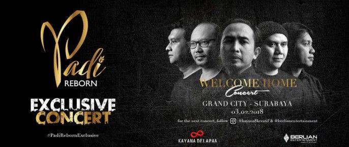 harga tiket PADI Reborn Exclusive Surabaya 2018