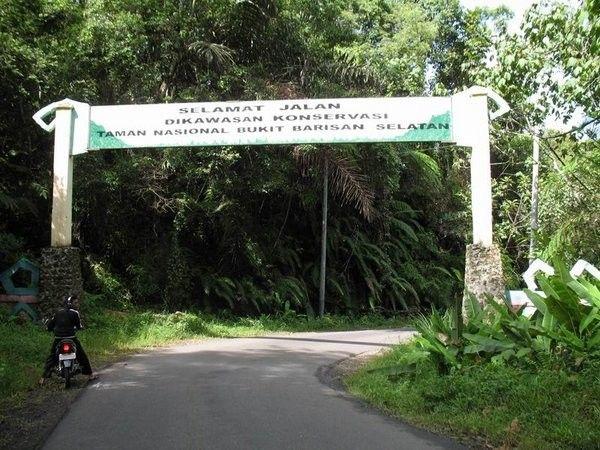 Taman Nasional Bukit Barisan Selatan