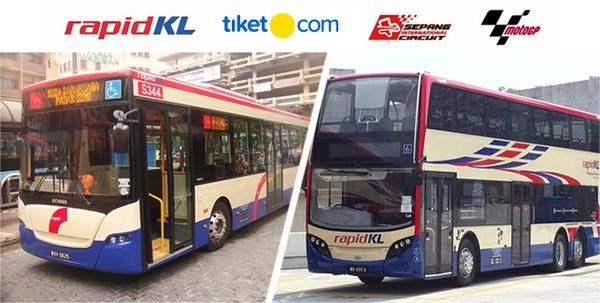 harga tiket RAPIDKL Shuttle Bus for MOTOGP Sepang 04 NOV 2018