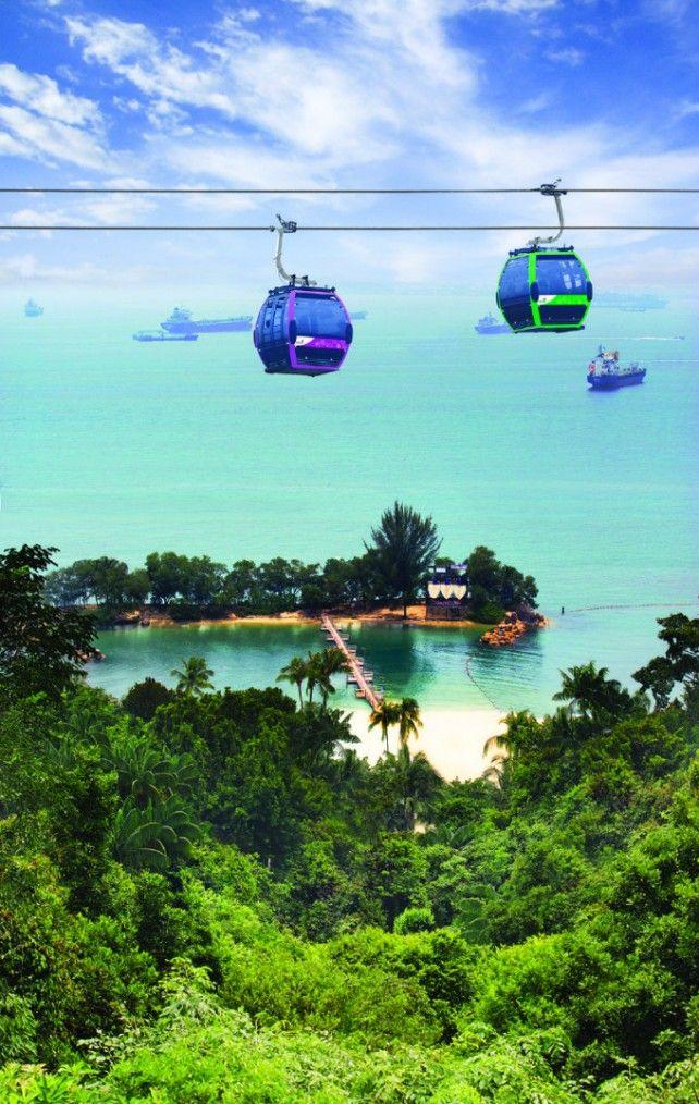 Round Trip Singapore Cable Car E-voucher